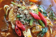 Mee Bandung Muar. Or simply Mee bandung, is a traditional cuisine originated from Muar, Johor, Malaysia Royalty Free Stock Photos