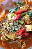 Mee Bandung Muar. Or simply Mee bandung, is a traditional cuisine originated from Muar, Johor, Malaysia Royalty Free Stock Photography