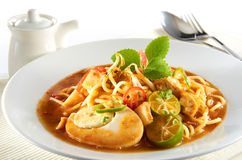 Mee Jawa. Famous dish among Malaysian Stock Photo