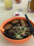 Mee Lor еды Сингапура еды лоточниц Сингапура местное Стоковые Фотографии RF