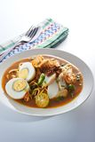 Mee Rebus Spicy Noodle Royalty Free Stock Image