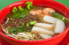 Mee Soup Royalty Free Stock Photos