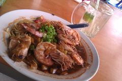 Mee Udang Royalty Free Stock Photo