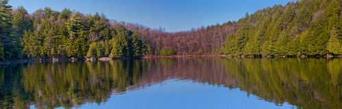 Meech Lake Panoramic Royalty Free Stock Image