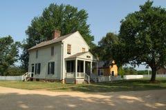 Meeks il deposito - parco storico nazionale della Camera di corte di Appomattox fotografie stock