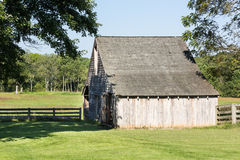 Meeks Stable at Appomattox park Stock Images
