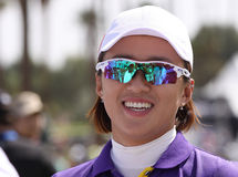 Meena Lee at the ANA inspiration golf tournament 2015 Stock Photography