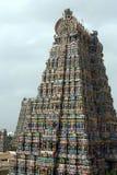 Meenakshi寺庙马杜赖印度 库存图片