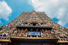 Meenakshi Amman świątynia w Madurai, India Zdjęcie Royalty Free