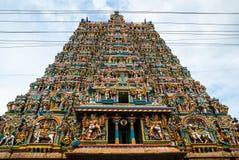 Meenakshi Hindoese tempel in Madurai, Royalty-vrije Stock Afbeeldingen