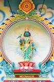 Meenakshi, a Hindu Goddess Royalty Free Stock Photography