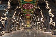Meenakshi hindu temple Stock Image