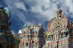 Meenakshi hindu temple in Madurai Royalty Free Stock Image