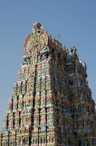 Meenakshi hindu temple in Madurai Stock Photography