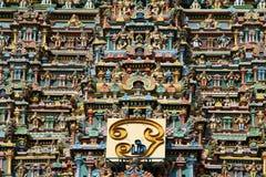 Meenakshi hindu temple in Madurai, South India Stock Photography