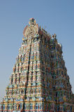 Meenakshi hindu temple in Madurai, Tamil Nadu Royalty Free Stock Photo