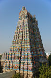 Meenakshi hindu temple in Madurai, Tamil Nadu, South India. Scul Stock Photo