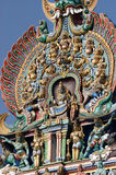 Meenakshi hindu temple in Madurai, Tamil Nadu, South India. Scul Stock Photography