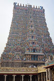 Meenakshi hindu temple Stock Images