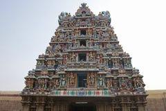 Meenakshi hindu temple in Madurai Stock Photos