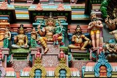 Meenakshi Sundareswarar Temple stock image