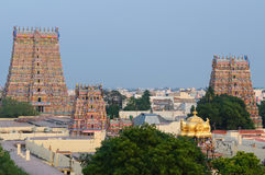 Meenakshi  Sundareswarar Temple Stock Photography