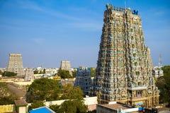 Meenakshi tempel Royaltyfri Foto
