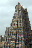 Meenakshi tempel Madurai Indien Arkivbilder