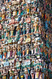 Meenakshi Temple in Madurai. India Royalty Free Stock Photos