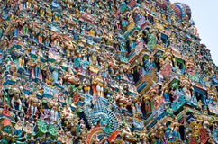 Meenakshi Temple in Madurai, India Stock Image