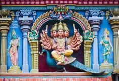 Meenakshi Temple in Madurai, India Royalty Free Stock Photos