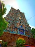 Meenaxi阿曼寺庙马杜赖Tamilnadu印度 免版税库存图片