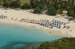 Meeräschen-Bucht - St Martin - Sint Maarten Lizenzfreies Stockbild