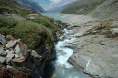 Meer in Alpen Royalty-vrije Stock Afbeeldingen