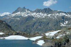 Meer in Alpen Stock Afbeelding