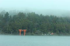 Meer Ashi in Hakone royalty-vrije stock foto's