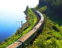 Meer Baikal, Rusland stock foto's