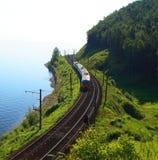 Meer Baikal, Rusland stock afbeeldingen
