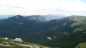 Meer, Berge Stockbilder