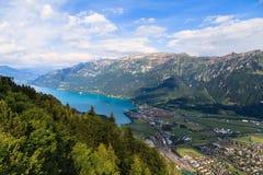 Meer Brienz, Zwitserland Stock Foto