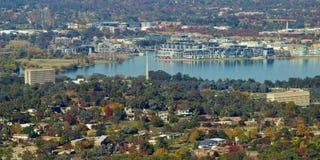 Meer Burley Griffin Canberra stock afbeelding