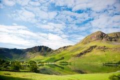 Meer Buttermere, het Nationale Park van het Meerdistrict, het UK Stock Foto's