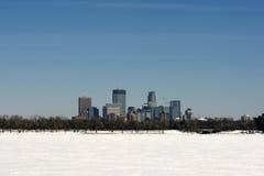Meer Calhoun, Minneapolis, Minnesota, de V.S. stock fotografie