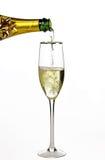 Meer champagne Royalty-vrije Stock Fotografie