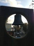 Meer Cliff Library Bell Lizenzfreie Stockfotografie