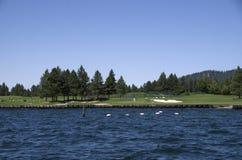 Meer Coeur dAlene Idaho dichtbij Spokane Washington Stock Fotografie