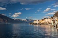 Meer Como - Bellagio, Italië Royalty-vrije Stock Foto's