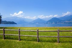 Meer Como, Italië stock afbeeldingen
