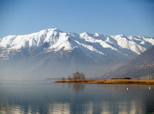 Meer Como - Italië Stock Afbeeldingen