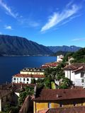 Meer Como Italië Stock Afbeeldingen